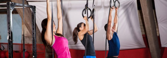 Women Doing Crossfit
